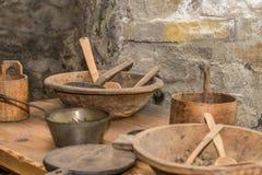 Cuisine médiévale Images libres de droits