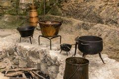 Cuisine médiévale Image stock
