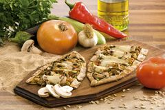 Cuisine méditerranéenne Images libres de droits