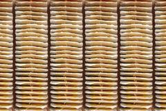 Cuisine - nourriture et boissons Sacs à thé de vue supérieure Photo stock