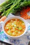 Cuisine nutritive délicieuse de pays Photo libre de droits