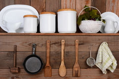 Cuisine rustique Photo stock