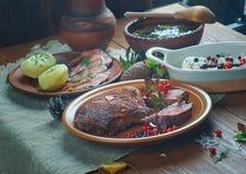 Cuisine scandinave photographie stock libre de droits