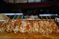 Cuisine taiwanaise (tofu stinky) Photo libre de droits