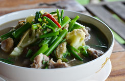 Cuisine thaïe Photo stock