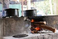 Cuisine traditionnelle dans l'Inde Image libre de droits