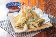 Cuisine traditionnelle du Japon de tempura photos libres de droits