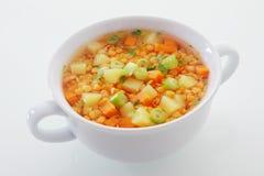 Cuisine végétarienne nutritive Photos stock