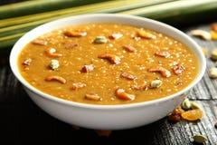 Cuisine- van Kerala Heerlijke payasam of kheer royalty-vrije stock foto's