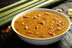 Cuisine- van Kerala Heerlijke payasam of kheer royalty-vrije stock foto
