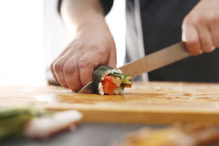 Cuisines of the world, Japanese sushi Stock Photography