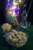 Cuisines of the world. Russian cuisine. Pelmeni Royalty Free Stock Photos