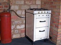 Cuisinière à gaz images stock