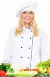 Cuisinière de femme Photo stock