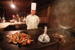 Cuisinier égyptien photographie stock