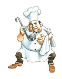 Cuisinier Photographie stock