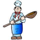Cuisinier illustration libre de droits
