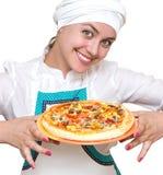 Cuisinier attirant Image libre de droits