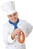 Cuisinier beau Photos libres de droits
