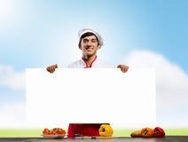 Cuisinier d'homme Images libres de droits