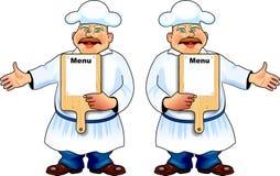 Cuisinier d'homme Photographie stock libre de droits