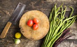 Cuisinier de matière première  Photographie stock