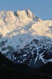 Cuisinier de montagne de chute de neige Photos libres de droits
