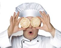 Cuisinier de régime. Photographie stock