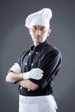 Cuisinier de restaurant rendu 3D et photo De haute résolution Photo stock