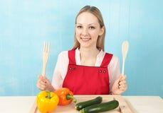 Cuisinier de sourire   images libres de droits