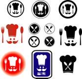 Cuisinier de symboles Photo libre de droits