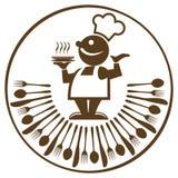 Cuisinier et nourriture Photos libres de droits