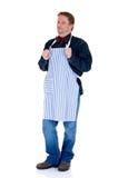 Cuisinier heureux photographie stock libre de droits