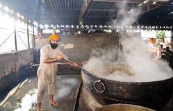 Cuisinier indien Photographie stock