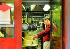 Cuisinier italien Rome, Italie photographie stock libre de droits