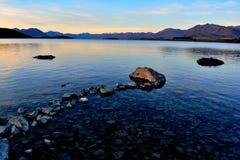 Cuisinier National Park, Nouvelle-Zélande de Mt Photographie stock libre de droits