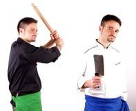 Cuisiniers de combat Photos stock