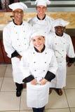 Cuisiniers professionnels Photographie stock