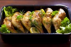Cuisses de poulet Photographie stock libre de droits