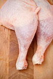Cuisses de poulet Photo stock