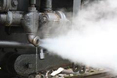 Cuisson à la vapeur de la pipe Images libres de droits