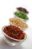 Cuisson avec des épices Photo stock