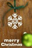 Cuisson créative de Noël Images libres de droits