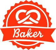 Cuisson de Bakery de Baker Photos stock