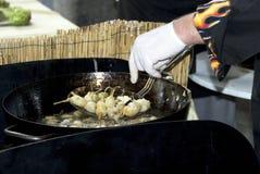Cuisson de chef Photos stock