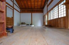 Cuisson de cuisine et salle à manger d'un thé japonais traditionnel ho Image stock
