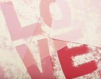Cuisson de l'amour imprimé Photographie stock libre de droits