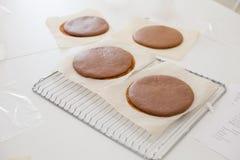 Cuisson de l'atelier de gâteau Image stock