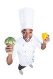 Cuisson de la nourriture saine Photo stock