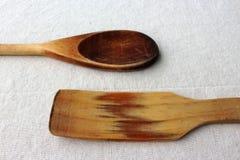 Cuisson des cuillères Images stock